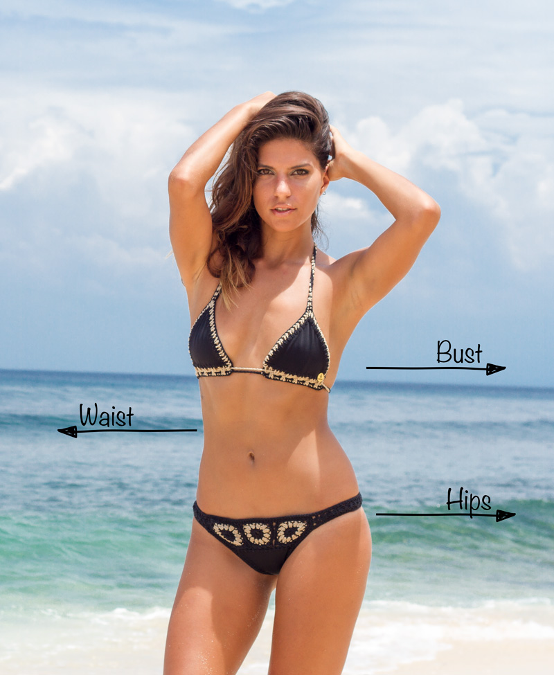 How to grade Crochet Bikinis