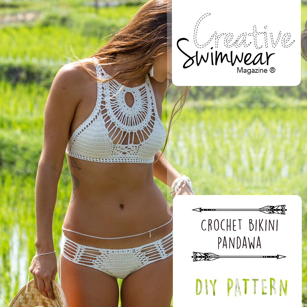 Pandawa Crochet Bikini Pattern Creative Swimwear Magazine And Trends