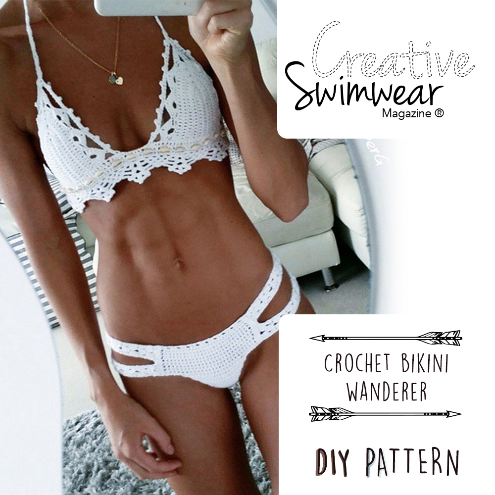 Wanderer Crochet Bikini Pattern Creative Swimwear Magazine And