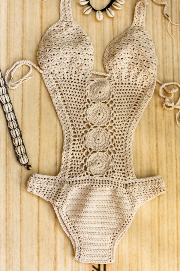 crochet pattern one piece