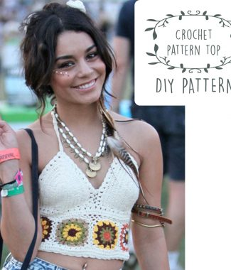 free crochet pattern top