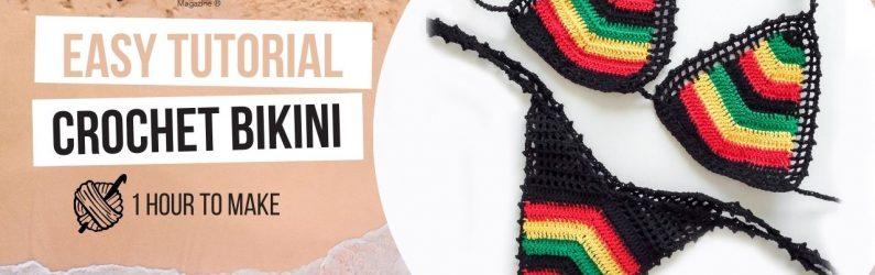 New Crochet Bikini Pattern now on my Youtube Channel
